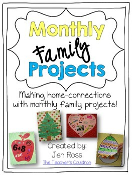 Monthly Family Projects