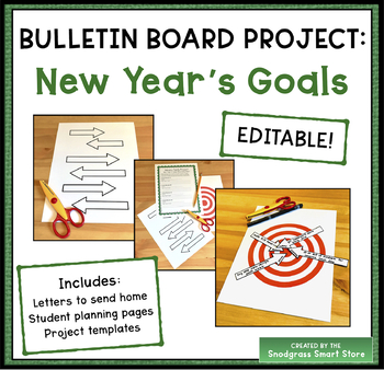 January Bulletin Board Project: New Year's Goals
