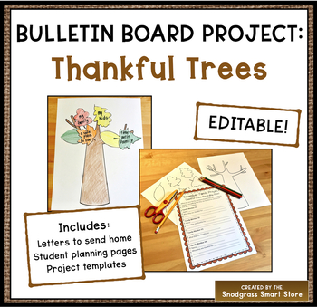 Thanksgiving Bulletin Board Project: Thankful Trees