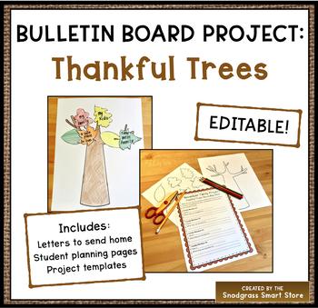Thanksgiving Bulletin Board Project: Thankful Trees
