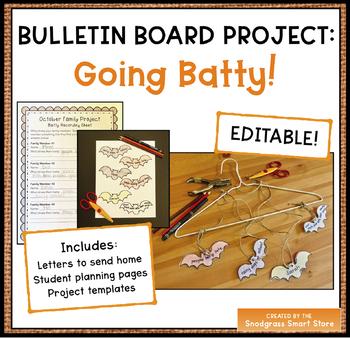 Fall Bulletin Board Activity: Going Batty