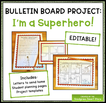 Bulletin Board Projects: What's Your Super Power?