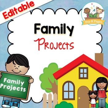 Monthly Family Projects for Pre-K and Kindergarten
