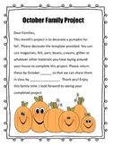 Monthly Family Take Home Projects