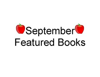 Monthly Featured Books Labels
