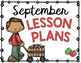 Monthly File Organizer - Month Posters - Lesson Plan Covers FREE Back to School