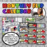 Monthly Flip Calendar