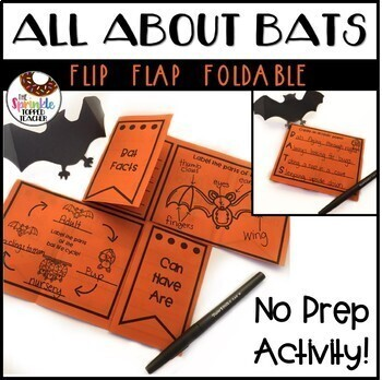 Monthly Research Activities for the Year - No Prep Flip Flaps Bundle