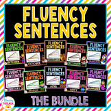 Monthly Fluency Sentences Bundle