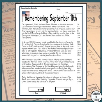 Monthly Fluency Passages - Informational Text - Excellent Fluency Workbook!
