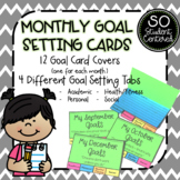 Monthly Goal Setting Cards