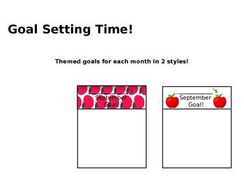Monthly Goal Setting EDITABLE