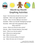 Monthly Graphing Activity Pack