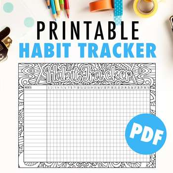 Monthly Habit Tracker