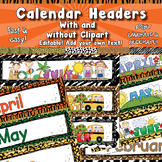 Monthly Headers APT-001