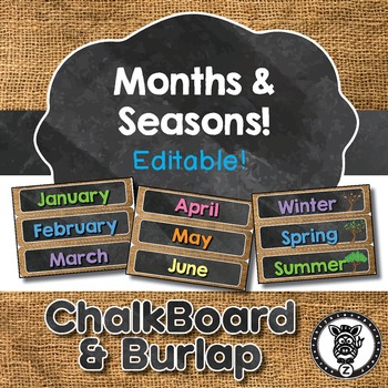 Monthly Headers & Seasons
