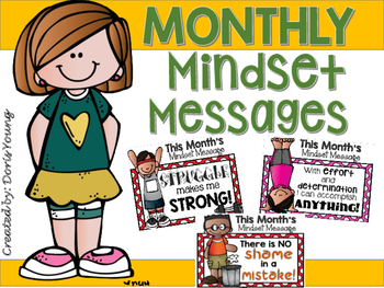 Monthly Healthy Mindset Messages