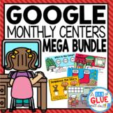 Monthly & Holiday Google Slides Mega Bundle for Kinder, Pr