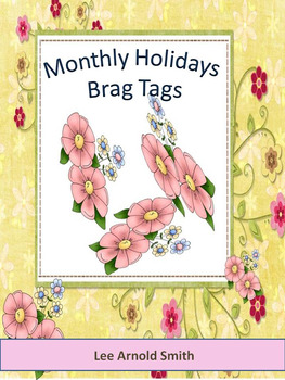 Monthly Holidays - Brag Tags
