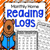 Reading Log for Preschool, Pre-K, and Kindergarten