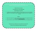 Monthly Homework Agenda with Parent Signature