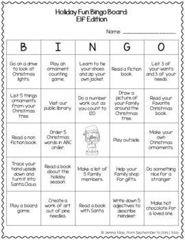 Monthly Homework Bingo Boards: A Growing Bundle