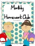 Monthly Homework Club