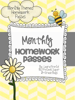 Monthly Homework Passes