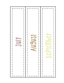 Monthly Idea Binder Cover & Spine Label Freebie