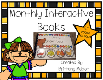 Monthly Interactive Books