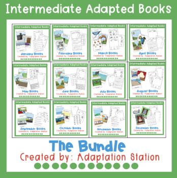 Monthly Intermediate Adapted Books-The Bundle