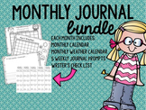 Monthly Journal: 9 Month Bundle