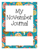 Monthly Journal Cover Pages