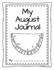 Monthly Journal Cover and Writing Paper