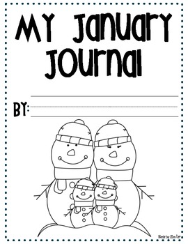 Monthly Journal Covers K-3