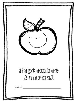 Monthly Journal Covers and Writing Paper