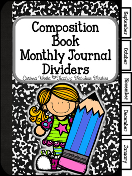 Monthly Journal Dividers