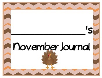 Monthly Journal Pages