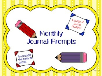 Monthly Journal Prompts