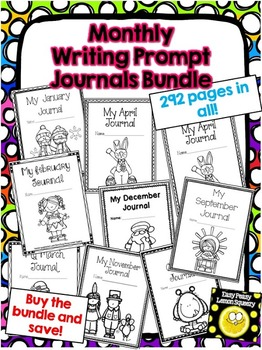 Monthly Journal Prompts Bundle