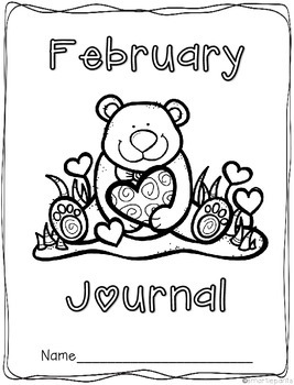 Monthly Journal Writing Prompts- February