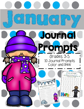 Monthly Journal Prompts: January