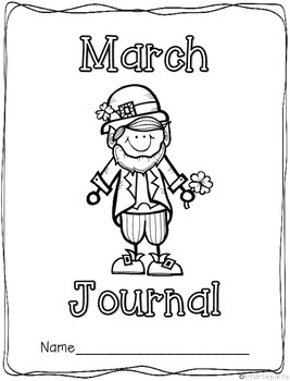 Monthly Journal Writing Prompts- March