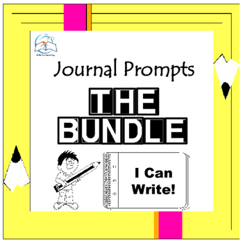 Journal Writing Prompts BUNDLE - Quick Writes