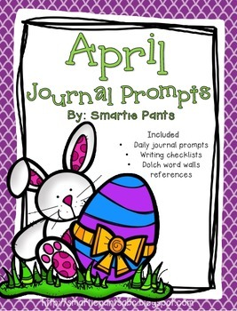 Monthly Journal Writing Prompts- April