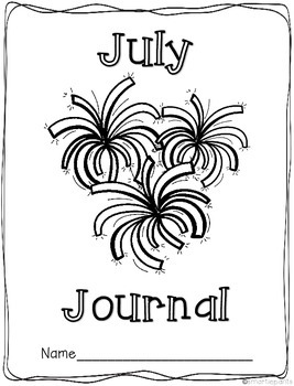 Monthly Journal Writing Prompts- July
