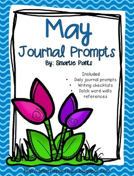 Monthly Journal Writing Prompts- May