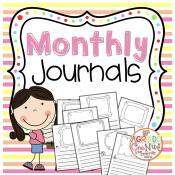 Monthly Journal Writing Templates