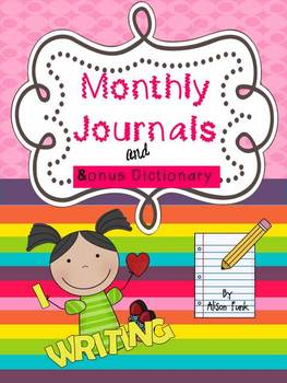 Monthly Journals and Bonus Dictionary