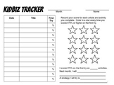 Monthly KidBiz Tracker